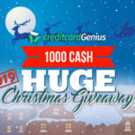 HUGE $1,000 Cash Christmas Giveaway 2019 | creditcardGenius