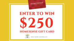 HomeSense Gift Card Sweepstakes – New Home Connection