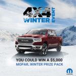 RAM Trucks $5,000 Mopar Winter Prize Pack