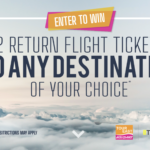 Tour East Holidays – 2 Return Flights Tickets Sweepstakes
