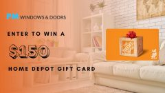 Enter to Win a $150 Gift Card | PM Windows and Doors