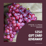Win a $250 Visa gift card!