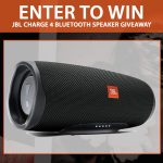 Win this This JBL Charge 4 Bluetooth Speaker