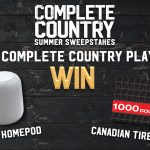 Click ENTER for your chance to win Complete Country's Summer Sweepstakes!