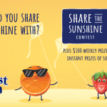 SUNKIST FRUIT SNACKS SHARE THE SUNSHINE SWEEPSTAKES