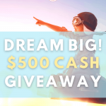 Dream Big $500 Cash Giveaway • Steamy Kitchen Recipes Giveaways