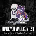 THANK YOU VINCE CONTEST