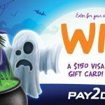 Pay2Day $150 Visa GC Giveaway