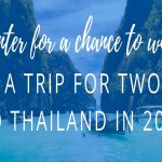 Travelzoo Thailand Best Bets Trip Prize Giveaway