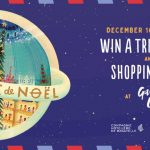 Giveaway: The Christmas voyage to Paris
