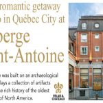Homefront Magazine – Auberge Saint-Antoine Contest