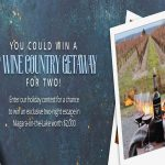 VIP Wine Country Getaway Holiday Contest