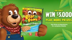 Dare Bear Paws – \'Veggies + Fruits Giveaway\' Sweepstakes