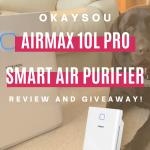 Okaysou AirMax10L Pro Smart Air Purifier Giveaway