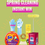 Spring Cleaning Instant Win