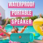 Waterproof Portable Speaker Giveaway