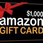 Win an Amazon Gift Card ($1,000 value)!